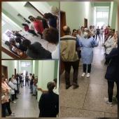 Capacitação Uso de EPI's - Hospital de Caridade Canguçu