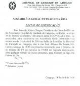 ASSEMBLÉIA HCC - Hospital de Caridade Canguçu