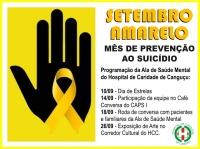Setembro Amarelo - Hospital de Caridade Canguçu