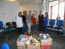 Doação de alimentos da E.E.E.M. SENADOR ALBERTO PASQUALINE - Hospital de Caridade Canguçu