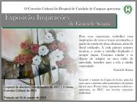 Exposição Inspirações de Graciele Souza - Hospital de Caridade Canguçu